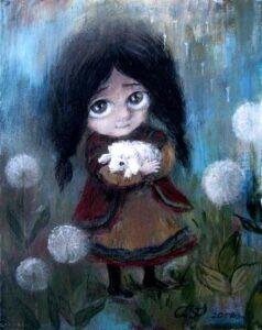 418458 original - Ангелы Нино: живопись как паломничество в детство