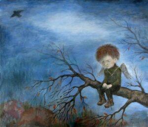 419888 original - Ангелы Нино: живопись как паломничество в детство