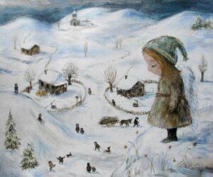 420645 original - Ангелы Нино: живопись как паломничество в детство
