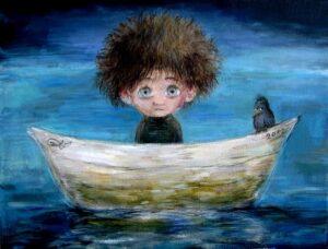 422511 original - Ангелы Нино: живопись как паломничество в детство