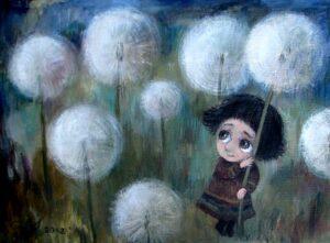 423630 original - Ангелы Нино: живопись как паломничество в детство