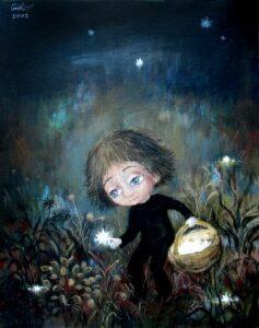 426282 original 1 - Ангелы Нино: живопись как паломничество в детство