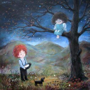 427520 original - Ангелы Нино: живопись как паломничество в детство