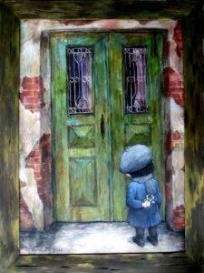 428026 original - Ангелы Нино: живопись как паломничество в детство