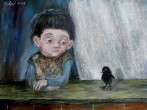 484777 586094298068495 1063355907 n - Ангелы Нино: живопись как паломничество в детство
