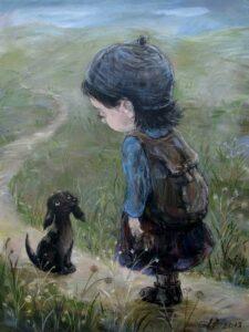577810 588085971202661 1609691432 n - Ангелы Нино: живопись как паломничество в детство