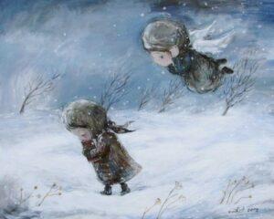 73312 556465107698081 1011034657 n - Ангелы Нино: живопись как паломничество в детство