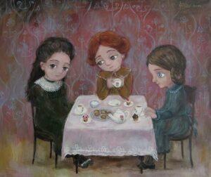 tea time - Ангелы Нино: живопись как паломничество в детство