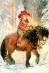 Рождественская лошадка — Виктория Корхова