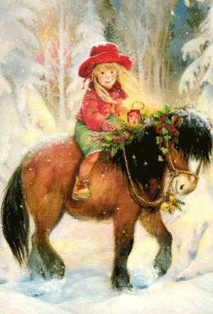 Рождественская лошадка - Виктория Корхова