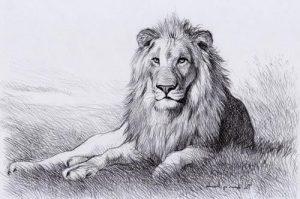 Басня Лев и барс