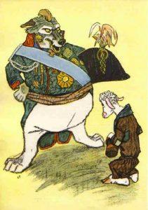 Басня Волк и ягненок
