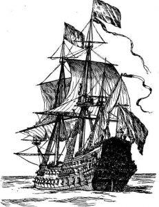 Басня Пушки и паруса