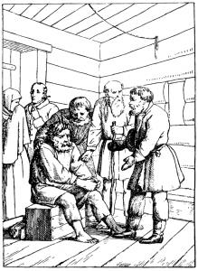 Басня Крестьянин в беде