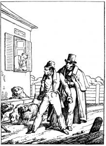 Басня Прохожие и собаки