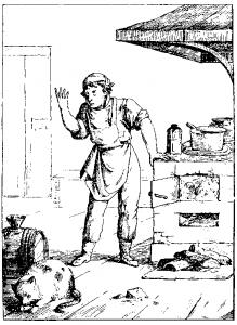 Басня Кот и повар