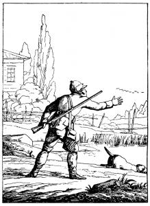 Басня Охотник