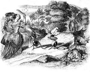 Басня Муха и пчела