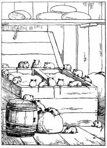 Басня Совет мышей