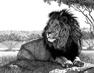Басня Лев