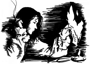 Басня Сочинитель и разбойник