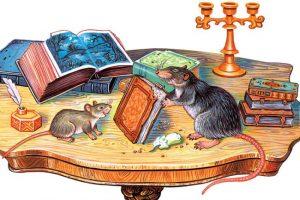 Басня Мышь и крыса