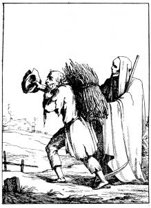 Басня Крестьянин и смерть