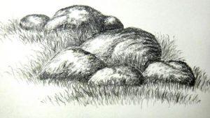 Басня Камень и червяк