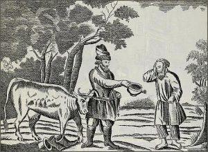 Басня Крестьянин и разбойник