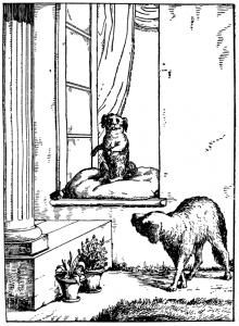 Басня Две собаки