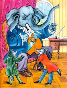 Басня Слон на воеводстве