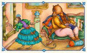 Басня Зеркало и обезьяна
