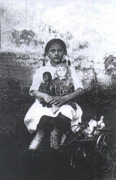 Маргарита, фото детских лет