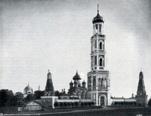Московский Симонов монастырь.