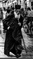 Патриарх Павел и пьяный человек