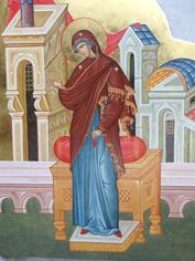 Икона Пресвятой Богородицы Благовещение