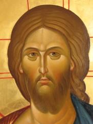 фрагмент иконы Спасителя