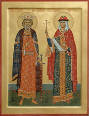 Прп. Ольга и Владимир