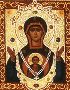 Икона Богородицы «Знамение» Корчемная