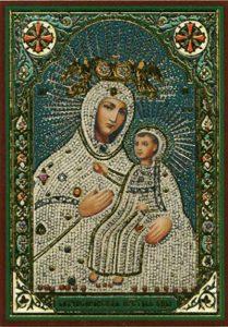 Икона Богородицы Бахчисарайская (Крымская, Мариупольская)