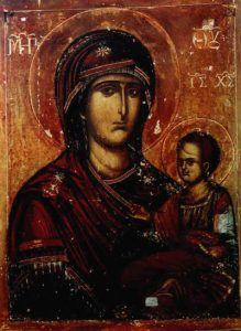 Икона Богородицы Попская (Иерейская)