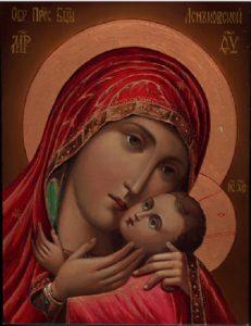 Икона Богородицы Спасительница утопающих (Леньковская)