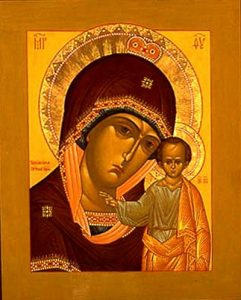 Икона Богородицы Табынская