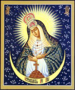 Икона Богородицы Остробрамская Виленская