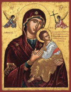 Икона Богородицы «Страстная»