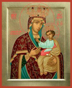 Икона Богородицы Черниговская-Гефсиманская