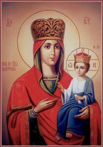Икона Богородицы Рудненская (Руденская)