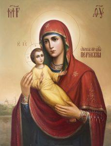 Икона Богородицы Пермская