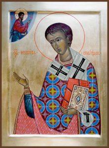 Святитель Никита Печерский, Новгородский