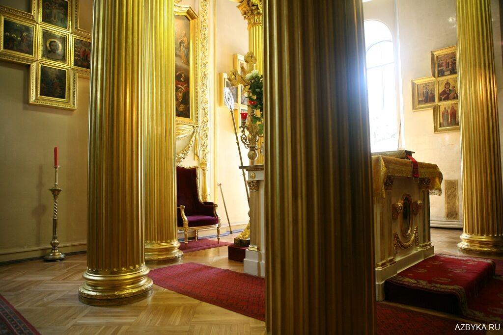 Горнее место Спасо-Преображенского собора